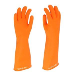 ถุงมือยางยาวถึงข้อศอก